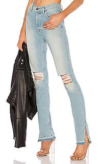 Прямые джинсы high split - COTTON CITIZEN