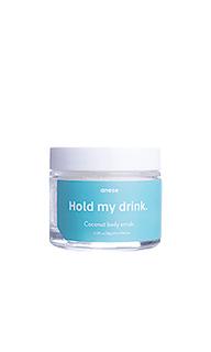 Скраб для губ и тела hold my drink - anese