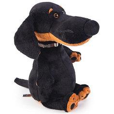 Мягкая игрушка Budi Basa Собака Ваксон в ошейнике, 25 см