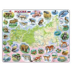 """Пазл """"Россия"""",  Larsen, 100 деталей"""