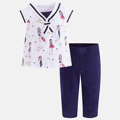Комплект:леггинсы,блузка Mayoral для девочки