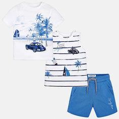 Комплект:боди,футболка,ползунки Mayoral для мальчика