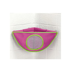Органайзер для игрушек в ванной, Munchkin, розовый