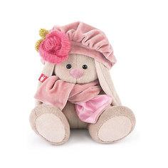 Зайка Ми в берете с вязаным цветком (малыш) Budi Basa