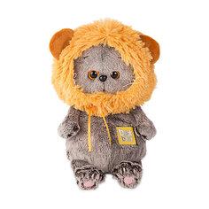 Мягкая игрушка Budi Basa Басик Baby в шапке - лев, 20 см