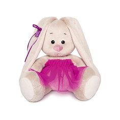 Мягкая игрушка Budi Basa Зайка Ми в пурпурной юбочке «фонарик», 15 см