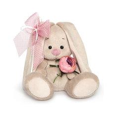 Мягкая игрушка Budi Basa Зайка Ми с винтажной розой, 15 см