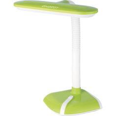 Лампа электрическая настольная EN-LED21, ENERGY, бело-зеленая
