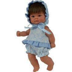 "Кукла Asi ""Пупсик"" в синем костюмчике, 20 см"