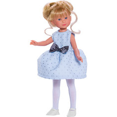 """Классическая кукла Asi """"Селия"""" в голубом платье, 30 см"""