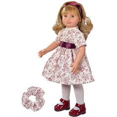 """Классическая кукла Asi """"Нелли"""" в бежевом платье, 40 см"""