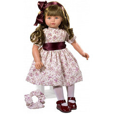 """Классическая кукла Asi """"Пепа"""" в бежевом платье, 57 см"""