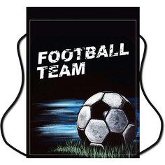 Мешок для обуви Centrum «Футбол», черный