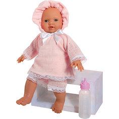 """Кукла-пупс Asi """"Popo"""" в розовом костюмчике, 36 см"""