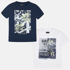 Комплект:2 футболки Mayoral для мальчика