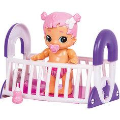 """Интерактивная кукла Moose """"Bizzy Bubs"""" Грейси с кроваткой"""