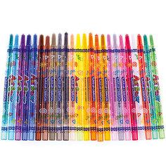 Карандаши восковые Crown «ArtStory», 24 цвета