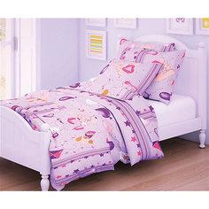 Детское постельное белье 3 предмета Letto, простыня на резинке, BGR-62