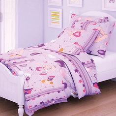 Детское постельное белье 1,5 сп Letto, Коржик, розовый
