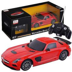 """Радиоуправляемая машинка Rastar """"Mercedes-Benz SLS AMG"""", 1:18, красная"""