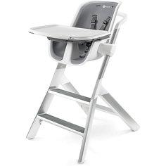 Стульчик для кормления High chair, 4moms, белый/серый