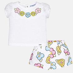 Комплект: шорты Mayoral для девочки