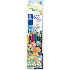 Набор цветных карандашей Staedtler «Noris Colour», 6 цветов
