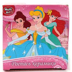 """Кружка для росписи MultiArt """"Принцессы"""""""