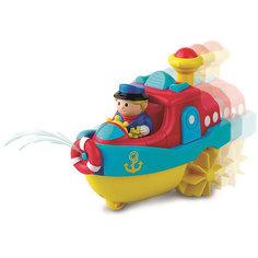 """Игрушка для купания HAP-P-KID """"Водный транспорт"""", пароход"""