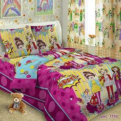 Детское постельное белье 1,5 сп. Letto,Подружки