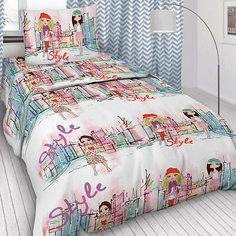 Детское постельное белье 1,5 сп. Letto,Модницы