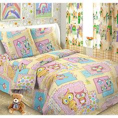 Детское постельное белье 1,5 сп. Letto, Сова