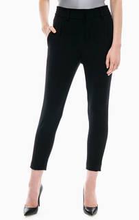 Укороченные брюки черного цвета Drykorn