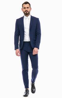Классический костюм синего цвета Gaudi