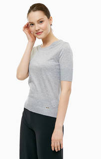 Однотонная футболка с короткими рукавами Cinque