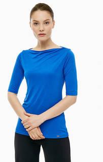Синяя футболка с короткими рукавами Cinque