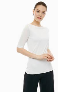 Белая футболка с короткими рукавами Cinque