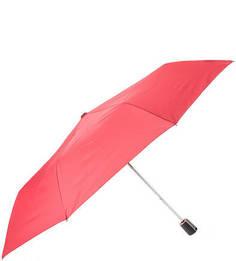 Складной зонт с куполом цвета фуксии Doppler
