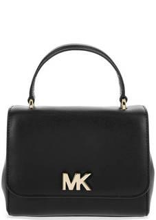 Маленькая кожаная сумка с короткой ручкой Michael Michael Kors