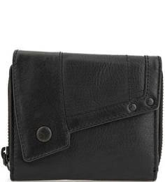 Кожаный кошелек с откидным клапаном Aunts & Uncles