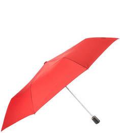 Складной зонт с куполом красного цвета Doppler