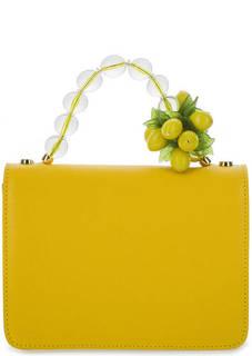 Маленькая сумка из натуральной кожи Roberta Gandolfi
