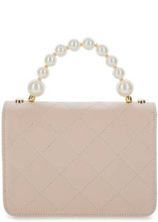 Маленькая стеганая сумка из натуральной кожи Roberta Gandolfi