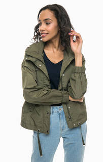 Куртка цвета хаки с капюшоном Vero Moda