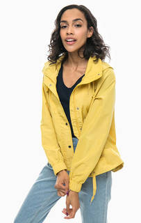 Желтая куртка с капюшоном Vero Moda