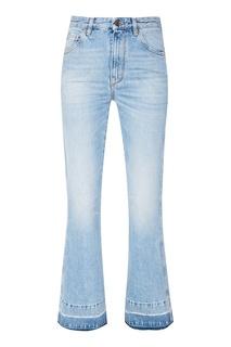 Голубые расклешенные джинсы Golden Goose Deluxe Brand