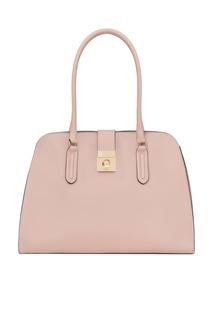 Розовая сумка из кожи Milano Furla