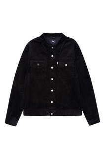 Черная вельветовая куртка Neige