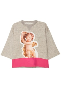 Хлопковый свитшот с ангелом Golden Goose Deluxe Brand