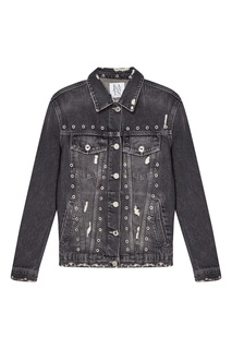 Джинсовая куртка с люверсами Zoe Karssen